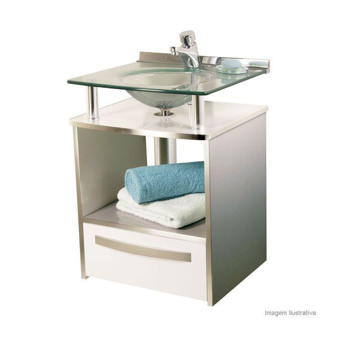 Gabinete-Cris-Mold-com-Cuba-no-tampo-996-Branco--e-Aluminio--50x46x70cm
