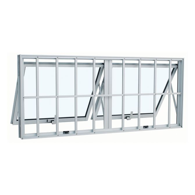 Janela-de-Aluminio-Maxim-Ar-Duplo-Alumifort-Branca-com-Grade-Classic-2-Folhas-60x120x7---Sasazaki