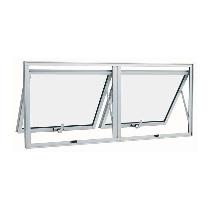 Janela-de-Aluminio-Maxim-Ar-Duplo-Alumifort-Branca-sem-Grade-2-Folhas-60x120x47---Sasazaki
