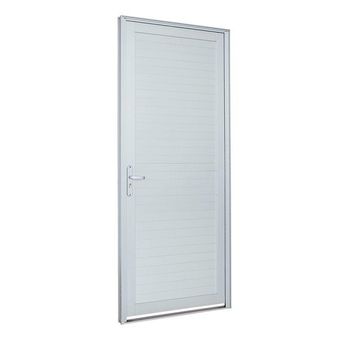 Porta-de-Aluminio-de-Abrir-Alumifort-Branca-com-Lambri-Horizontal-1-Folha-Abertura-Direita-216x88x54---Sasazaki