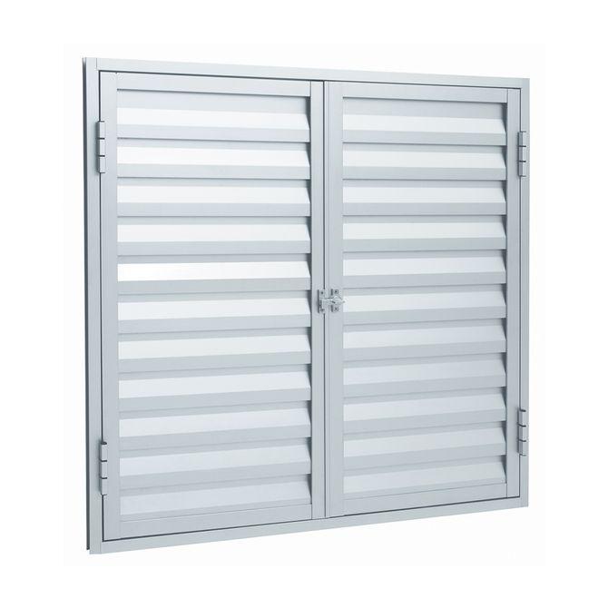 Portinhola-de-Aluminio-de-Abrir-Veneziana-Alumifort-Branca-2-Folhas-60x80x19---Sasazaki