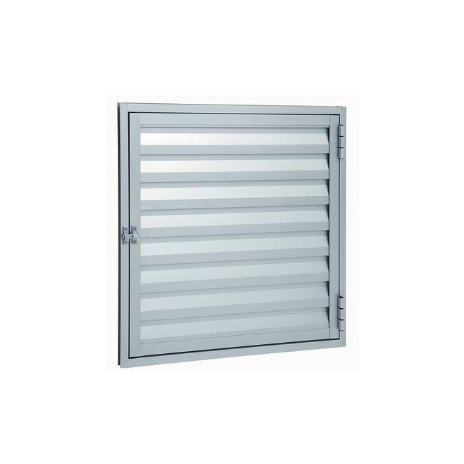 Portinhola-de-Aluminio-de-Abrir-Veneziana-Alumifort-Natural-1-Folha-60x60x19---Sasazaki