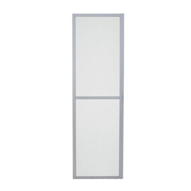Tela-Mosquiteira-Porta-de-Correr-Aluminium-Branca-1-Folha-Abertura-Esquerda---Sasazaki