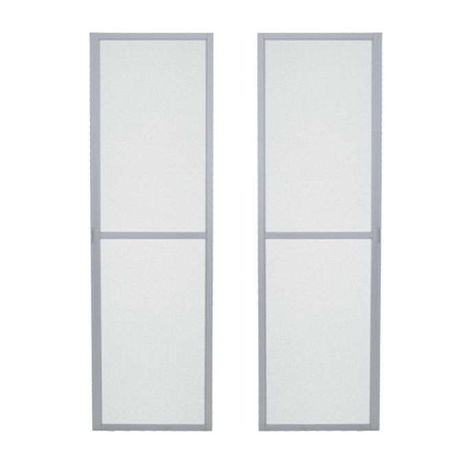 Tela-Mosquiteira-Porta-de-Correr-Aluminium-Branca-2-Folhas---Sasazaki