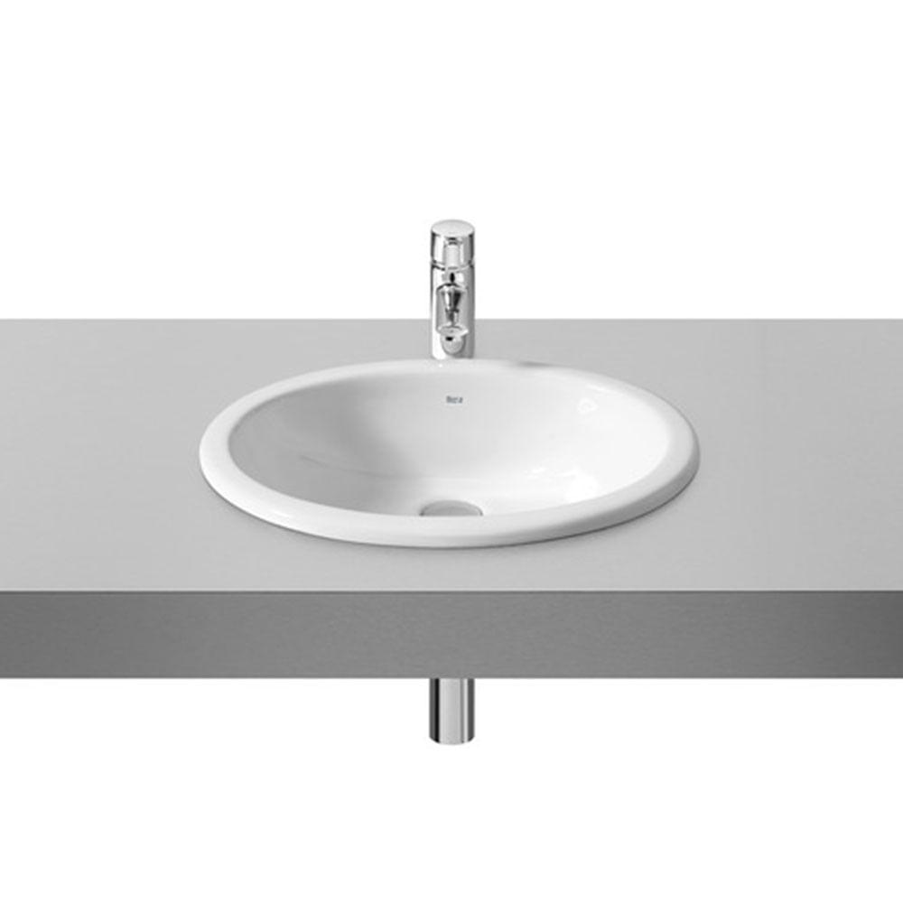 Cuba de Sobrepor e Embutir Oval Branca 51x40cm Neo Selene  Roca  padovani -> Cuba Para Banheiro De Sobrepor Oval Branca Icasa