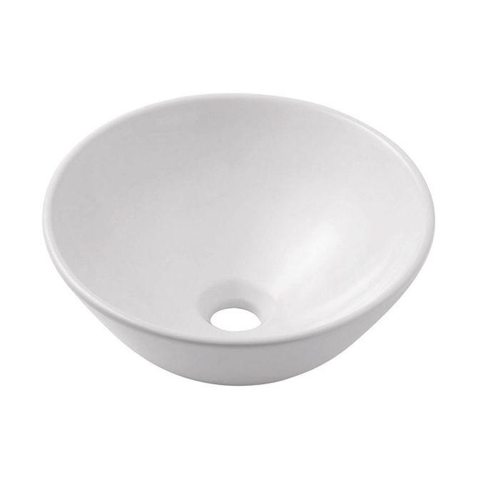 Cuba de Apoio Quadrada Branca 32,5×32,5cm Eros  Incepa  padovani -> Cuba Para Banheiro Thema