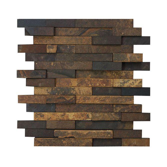 Placa-Natural-Stone-em-Pedra-Basalto-Ferrugem-em-Filetes-NS-130---Inova-Design