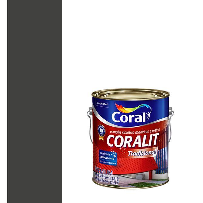 Esmalte-Sintetico-Fosco-Coralit-Preto-36L---Coral