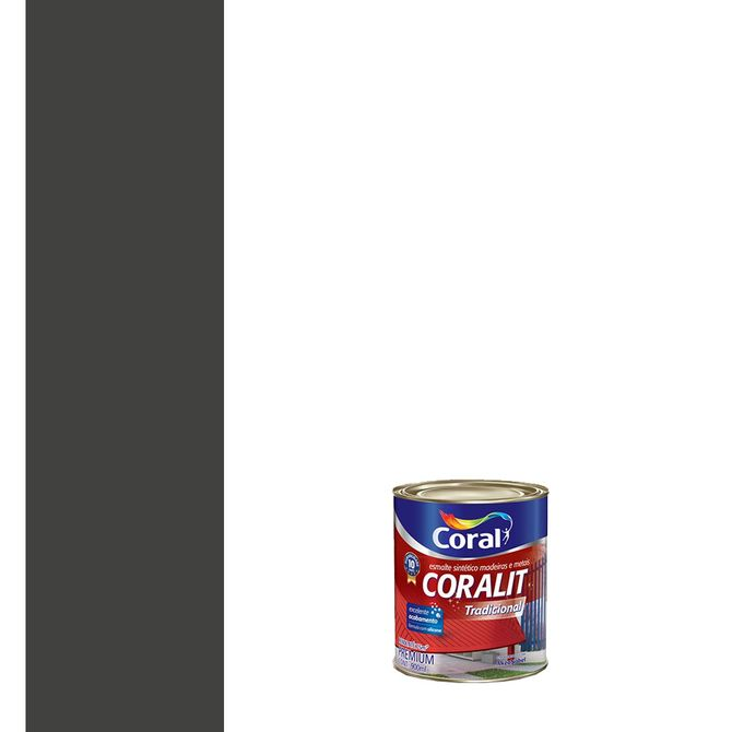 Esmalte-Sintetico-Fosco-Coralit-Preto-900ml---Coral