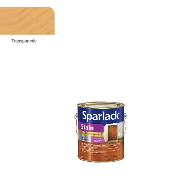 Verniz-Stain-Plus-Transparente-900ml---Sparlack