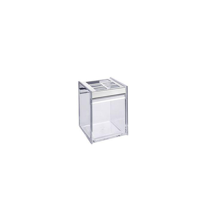Porta-Escova-Quadrata-Transparente-1981-008---Brinox