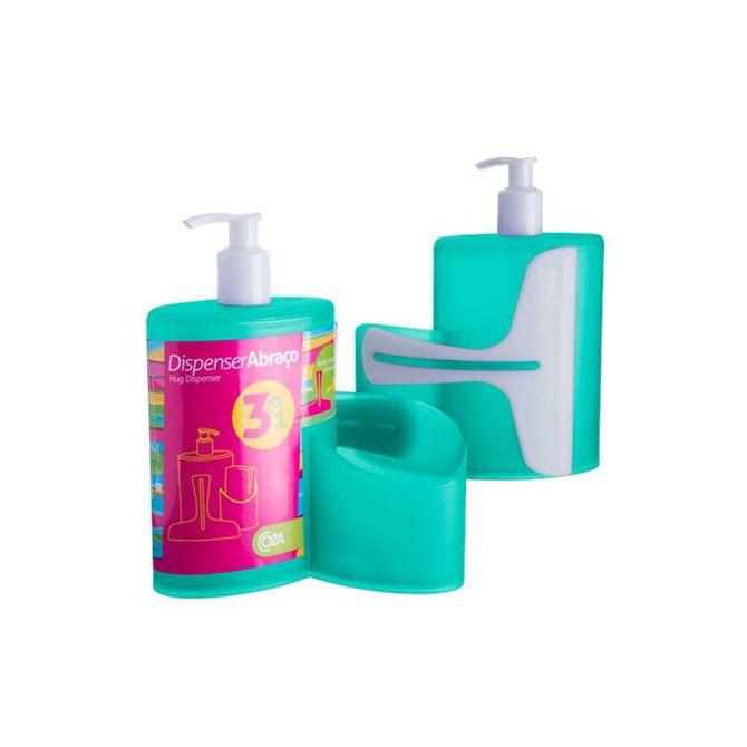 Dispenser-Abraco-Verde-600ml-10864-0129---Coza