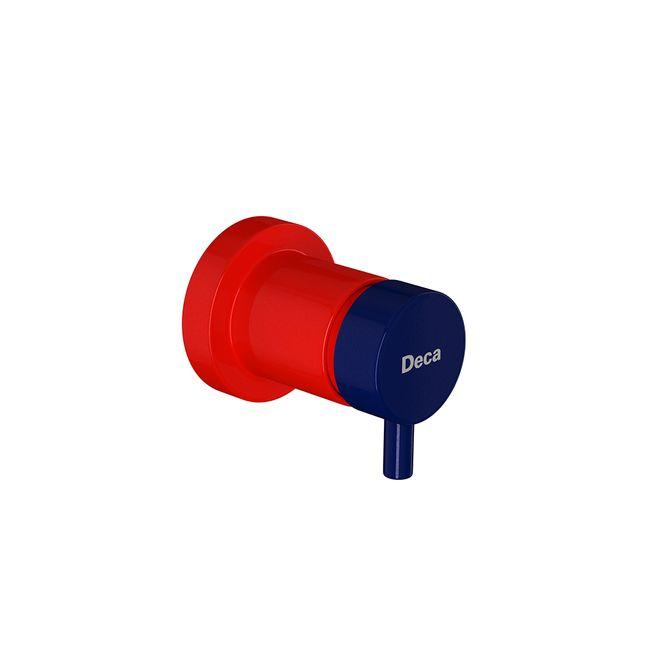 Acabamento-de-Registro-de-Gaveta-Kids-Vermelho-e-Azul-3-4--4900.VA.PQ.KD---Deca