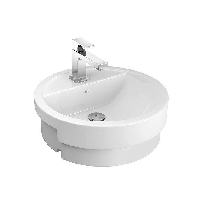 Cuba de Semi Encaixe para Banheiro  Padovani -> Cuba Para Banheiro De Semi Encaixe Branca Icasa