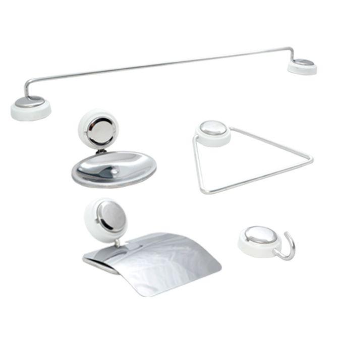 Kit-de-Acessorios-5-pecas-em-Aco-Inox-Branco-e-Cromado---Classinox