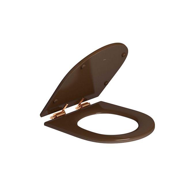Assento-Poliester-Marrom-Fosco-com-Slow-Close-e-Ferragem-Red-Gold-para-os-modelos-Carrara-Nuova-Link-e-Duna-AP237---Deca1