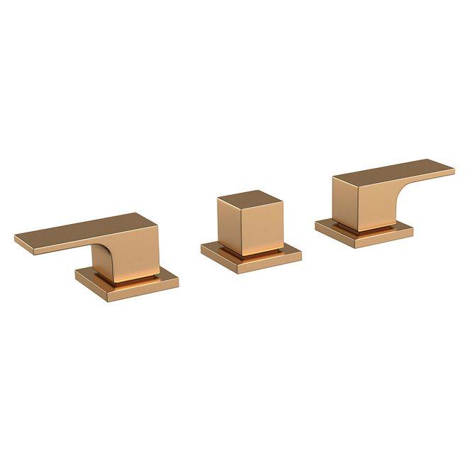 Misturador-para-Bide-Unic-Gold-Matte-1895.GL90.MT---Deca