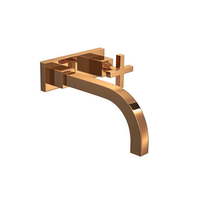Torneira-para-Banheiro-Parede-com-Chapa-Duna-Quadratta-Red-Gold-1179.GL94.RD---Deca
