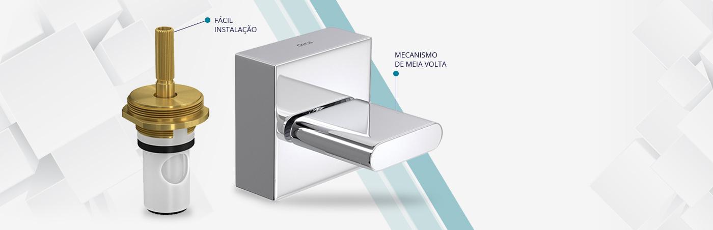 ACABAMENTO DE REGISTRO DE PRESSÃO MVR POLO 3/4 - 4916.C33 - DECA