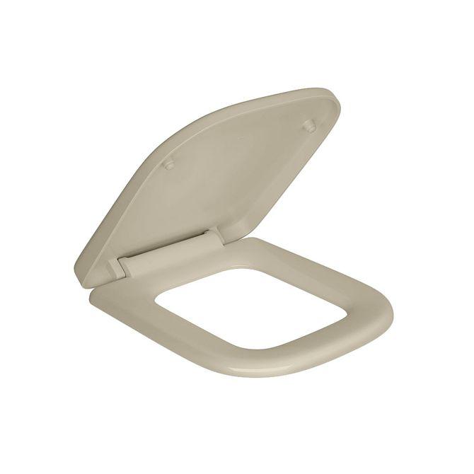 Assento-Plastico-Creme-com-Slow-Close-para-o-Modelo-Quadra-AP215---Deca1