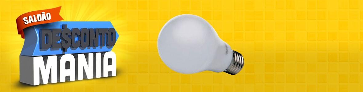 LAMPADA DE LED BRANCA 6000K BIVOLT LM030 7W - LUMINATTI