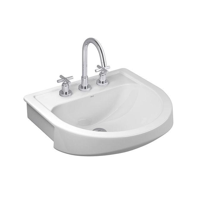 Lavatorio-para-Banheiro-Semi-Encaixe-Branco-55x50cm-L62---Deca1