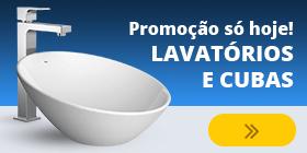 Promoção de cubas e lavatórios