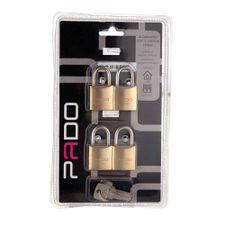 Cadeado-Multi-4-Chaves-Iguais---25mm---PADO