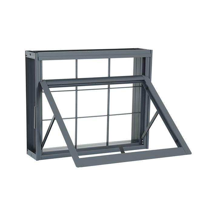Janela-de-Aco-Maxim-Ar-Silenfort-com-Grade-Quadriculada-1-Folha-40x60x8---Sasazaki