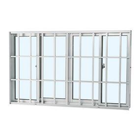 Janela-de-Aluminio-de-Correr-Alumifort-Branca-sem-Bandeira-sem-Divisao-com-Grade-Classic-4-Folhas-100x200x64---Sasazaki