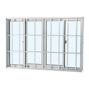 Janela-de-Aluminio-de-Correr-Alumifort-Branca-sem-Bandeira-sem-Divisao-com-Grade-Classic-4-Folhas-120x200x64---Sasazaki