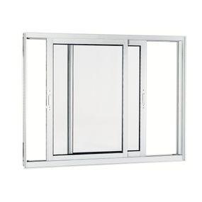 Janela-de-Aluminio-de-Correr-Aluminium-Branca-sem-Bandeira-sem-Divisao-sem-Grade-2-Folhas-Moveis-120x150x9---Sasazaki