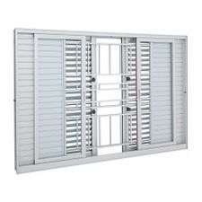 Janela-de-Aluminio-de-Correr-Multiflex-Aluminium-Branca-com-Grade-Classic-6-Folhas-120x150x14---Sasazaki