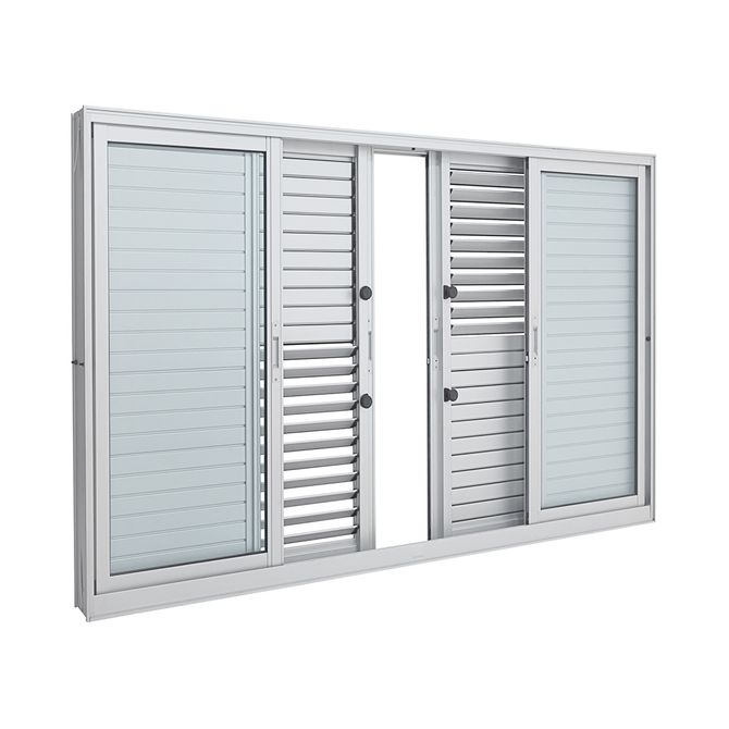 Janela-de-Aluminio-de-Correr-Multiflex-Aluminium-Branca-sem-Grade-6-Folhas-120x150x14---Sasazaki