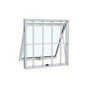 Janela-de-Aluminio-Maxim-Ar-Alumifort-Branca-com-Grade-Classic-1-Folha-60x60x7---Sasazaki