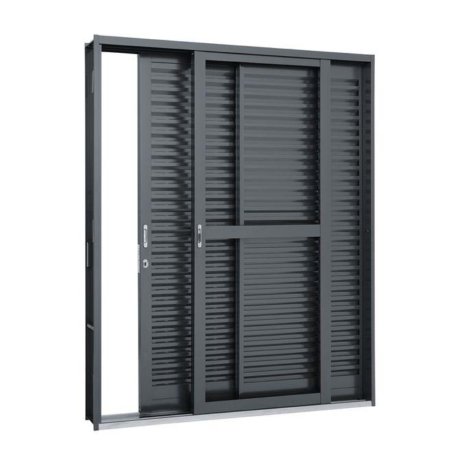 Porta-Balcao-de-Aco-de-Correr-Belfort-3-Folhas-Abertura-Direita-217x150x12---Sasazaki