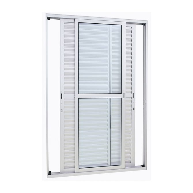 Porta-Balcao-de-Aluminio-de-Correr-Alumifort-Branca-3-Folhas-Moveis-216x120x13---Sasazaki