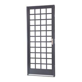 Porta-de-Aco-de-Abrir-Belfort-Quadriculada-1-Folha-Abertura-Esquerda-217x87x65---Sasazaki