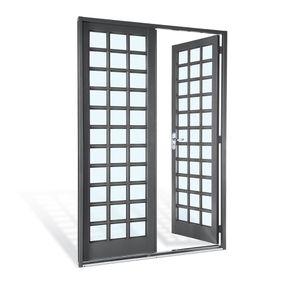 Porta-de-Aco-de-Abrir-Silenfort-Quadriculada-2-Folhas-217x140x8---Sasazaki