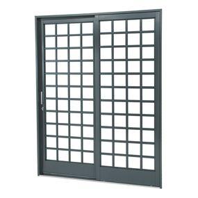 Porta-de-Aco-de-Correr-Belfort-Quadriculada-2-Folhas-Abertura-Direita-217x160x12---Sasazaki