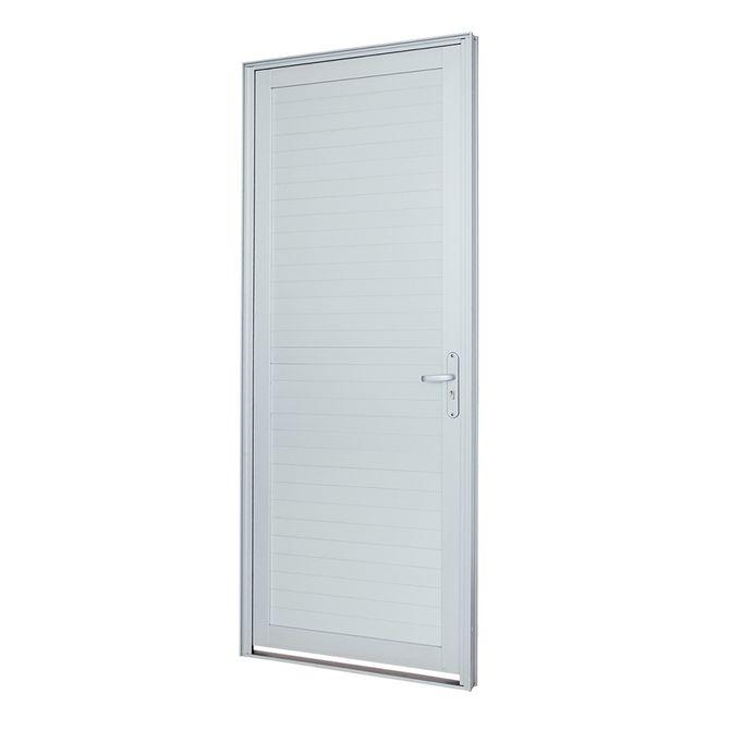 Porta-de-Aluminio-de-Abrir-Alumifort-Branca-com-Lambri-Horizontal-1-Folha-Abertura-Esquerda-216x88x54---Sasazaki