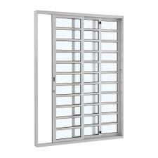 Porta-de-Aluminio-de-Correr-Alumifort-Branca-com-Divisao-3-Folhas-Abertura-Direita-216x160x12---Sasazaki
