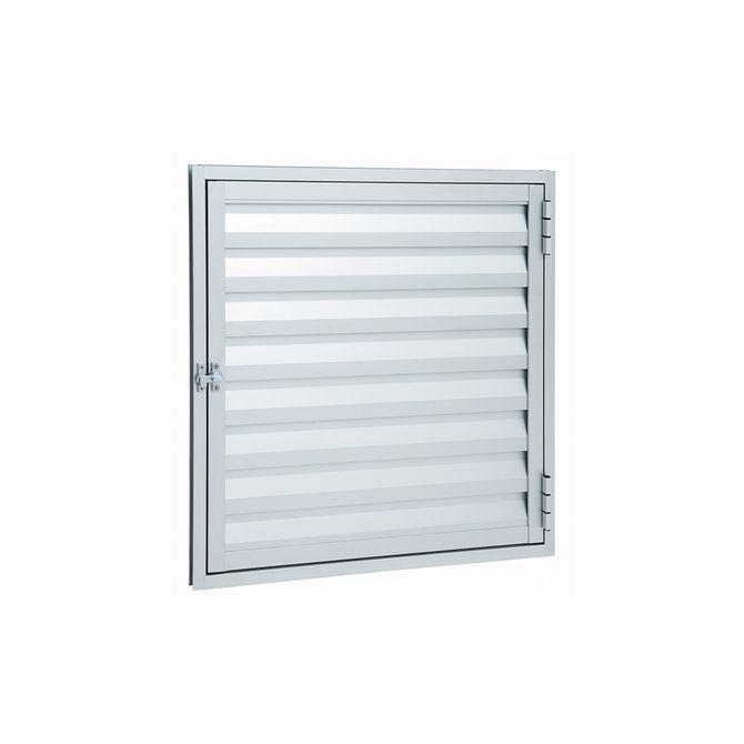 Portinhola-de-Aluminio-de-Abrir-Veneziana-Alumifort-Branca-1-Folha-60x60x19---Sasazaki
