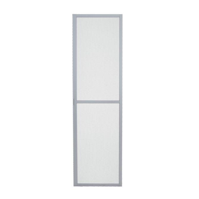Tela-Mosquiteira-Porta-de-Correr-Aluminium-Branca-1-Folha-Abertura-Direita---Sasazaki
