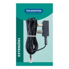 Extensao-Telefonica-Lisa-Preta-Adaptador-Americano-5m-57401820---Tramontina