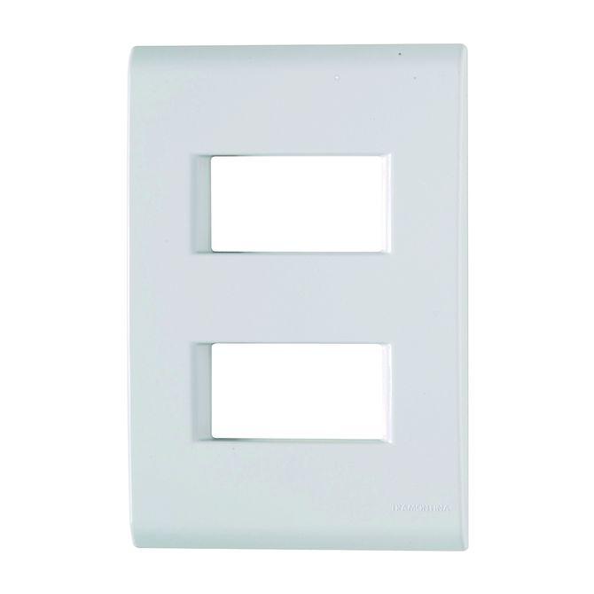 Placa-Liz-2P-Separado-4x2-57106006---Tramontina
