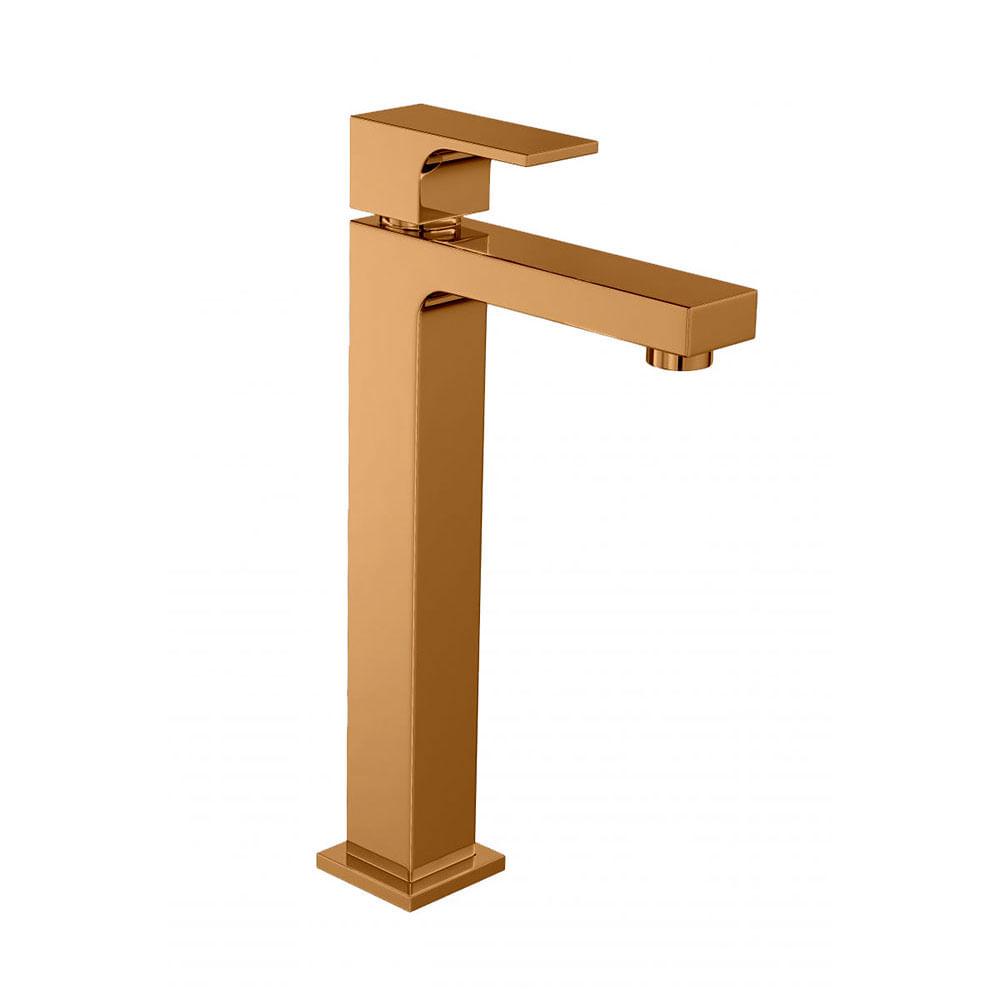 Torneira Para Banheiro Mesa Unic Red Gold Bica Alta 1189