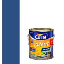 Esmalte-Sintetico-a-Base-de-Agua-Brilhante-Coralit-Azul-del-Rey-36L---Coral