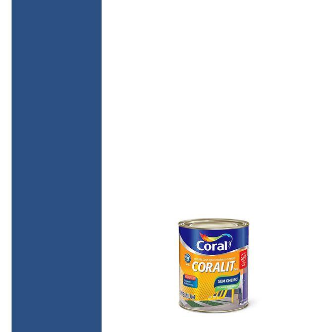 Esmalte-Sintetico-a-Base-de-Agua-Brilhante-Coralit-Azul-del-Rey-900ml---Coral