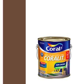 Esmalte-Sintetico-a-Base-de-Agua-Brilhante-Coralit-Tabaco-36L---Coral